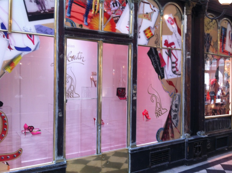 louboutin paris magasin