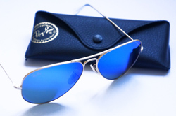 Ray Ban Aviator Lunettes verres miroir