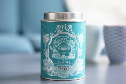 thé vert financier mariage frère Heritage gourmand avis