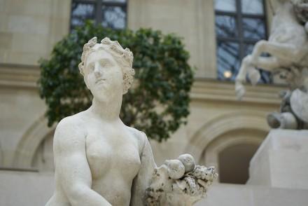 Le Louvre Paris Cour Marly sculptures (2)