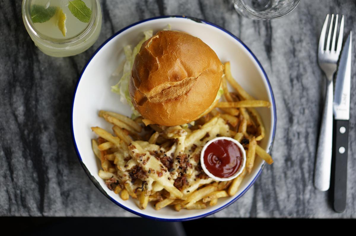 Paris New York burger avis restaurant morning california avocat
