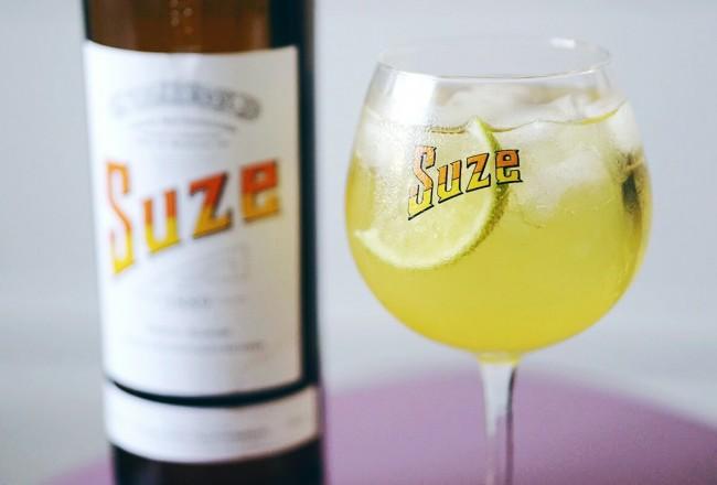 Spritz Suze cocktail recette